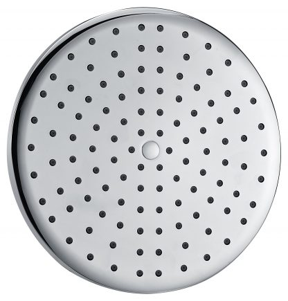 Overhead Rain Shower Head - 260mm Circular Large Chromed
