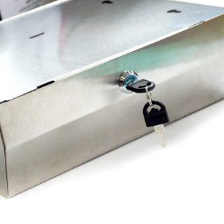 304 Stainless Steel Hand Paper Towel Dispenser Holder Toilet Heavy Duty