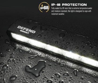 30inch LED Light Bar Slim Single Row Work Driving Lamp 4X4 Offroad