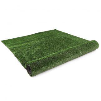 Primeturf Synthetic 10mm 0.95mx20m 19sqm Artificial Grass Fake Turf Olive Plants Plastic Lawn