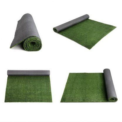 Primeturf Synthetic 10mm 1.9mx10m 19sqm Artificial Grass Fake Turf Olive Plants Plastic Lawn