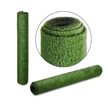 Primeturf Synthetic 17mm 0.95mx20m 19sqm Artificial Grass Fake Turf Olive Plants Plastic Lawn