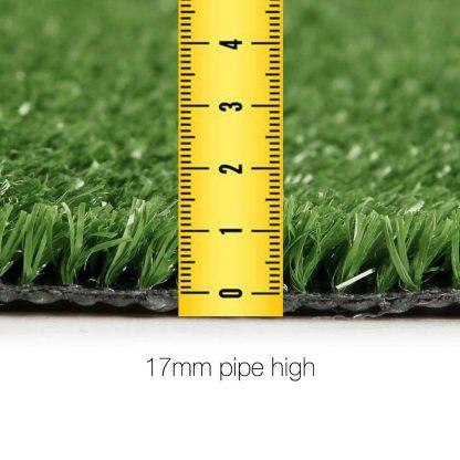 Primeturf Synthetic 17mm 1.9mx10m 19sqm Artificial Grass Fake Turf Olive Plants Plastic Lawn