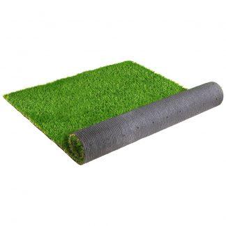 Primeturf Synthetic 30mm 0.95mx20m 19sqm Artificial Grass Fake Turf 4-coloured Plants Plastic Lawn
