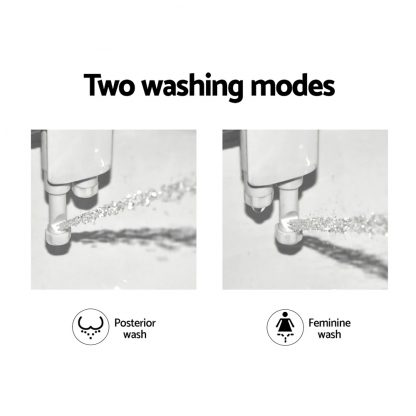 Bidet Toilet Seat Cold Hot Water Spray Non Electric Dual Nozzles Sprayer Hygiene