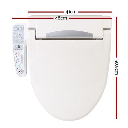 Electric Toilet Bidet - White