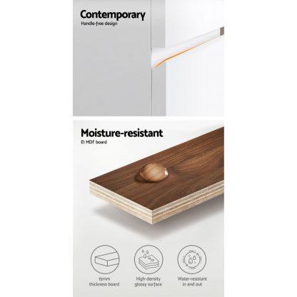 Cefito 900mm Bathroom Vanity Cabinet Basin Unit Wash Sink Storage Wall Mounted White