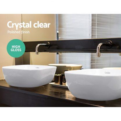 Cefito Ceramic Bathroom Basin Sink Vanity Above Counter Basins White Hand Wash