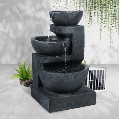 Gardeon Solar Fountain with LED Lights