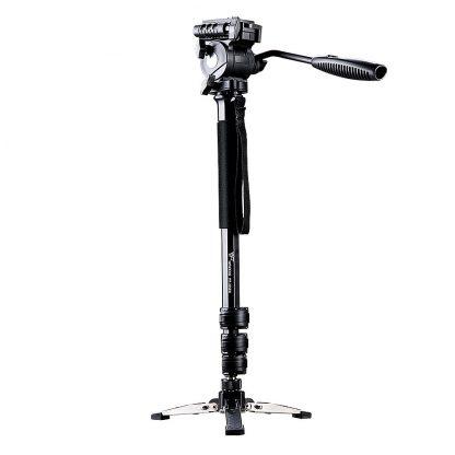 Weifeng Extendable Portable Camera Monopod Tripod - Black