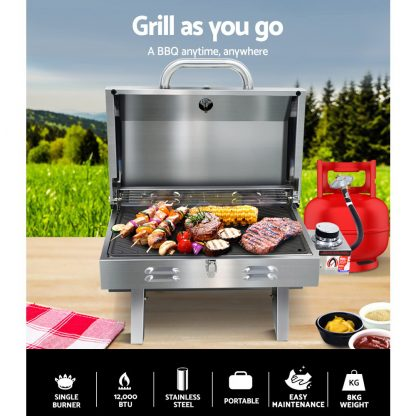 Grillz Portable Gas BBQ