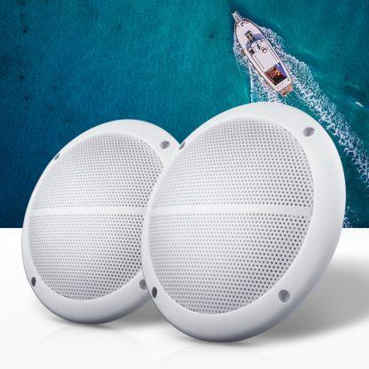 Giantz 2 x 6.5inch 2 Way Outdoor Marine Speakers