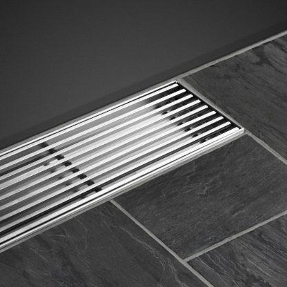 Cefito Shower Grate Heelguard 900mm Drain Stainless Steel Floor Waste Bathroom