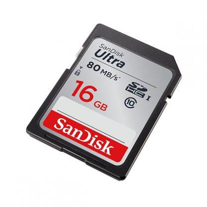 SDSDUNC-016G: SANDISK 16GB SDHC Class 10 Ultra 80MB/S
