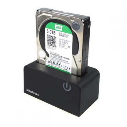 """Simplecom SD326 USB 3.0 to SATA Hard Drive Docking Station for 3.5"""" and 2.5"""" HDD SSD"""