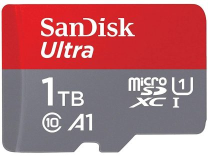 SANDISK SDSQUA4-1T00-GN6MN Micro SDXC Ultra UHS-I Class 10 , A1, 120mb/s No adapter