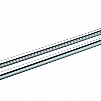 Double Towel Rail Grade 304 Stainless Steel 635mm