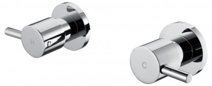 Chrome Bathroom Shower / Bath Mixer Set w/ WaterMark