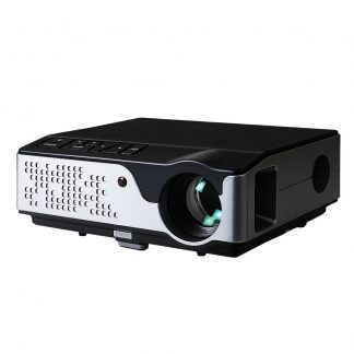Devanti Video Projector Wifi USB Portable 4000 Lumens HD 1080P Home Theater Black