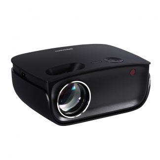 Devanti Mini Video Projector Wifi USB HDMI Portable 2000 Lumens HD 1080P Home in Black