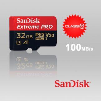 SANDISK SDSQXCG-032G-GN6MA 32GB MICRO SDHC EXTREME PRO 4K , A1 V30, UHS-I/ U3, 100MB/s