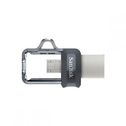 SANDISK OTG ULTRA DUAL USB DRIVE 3.0 FOR ANDRIOD PHONES 128GB 150MB/S SDDD3-128G