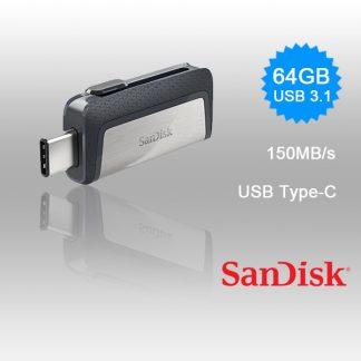 SANDISK ULTRA 64GB SDDDC2-064G Dual USB Drive Type-C 3.1