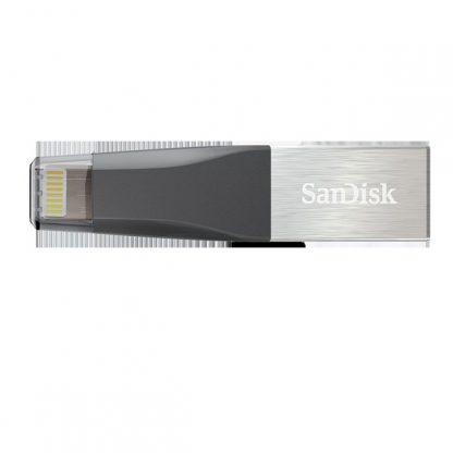 SANDISK IXPAND MINI FLASH DRIVE SDIX40N 64GB GREY IOS USB 3.0