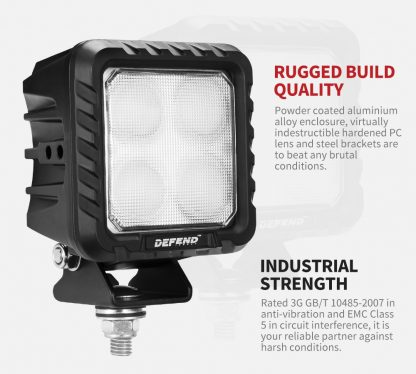 5inch LED Work Light Flood Driving Lamp SUV ATV Truck offroad 4x4