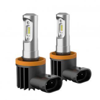 Pair LED Headlight Kit Driving Lamp H11 High Low Beam Globe bulbs upgrade deisgn