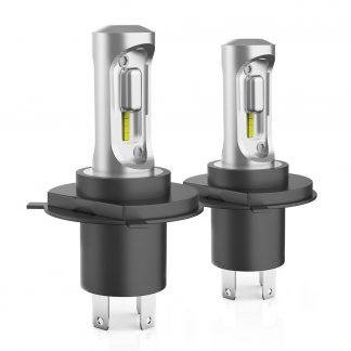 Pair LED Headlight Kit Driving Lamp H4 HB2 9003 High Low Beam 12000LM pair
