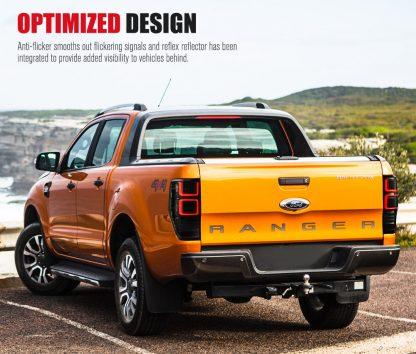 Tail Lights For Ford Ranger PX1 PX2 2012-2018 Wildtrak T6 XL XLT XLS