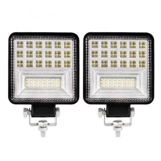 2X 4Inch Cree Led Work Lights Flood Spot Work Driving Lights Reverse Off Road 4WD
