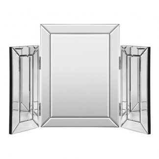 Artiss Mirrored Furniture Makeup Mirror Dressing Table Vanity Mirrors Foldable