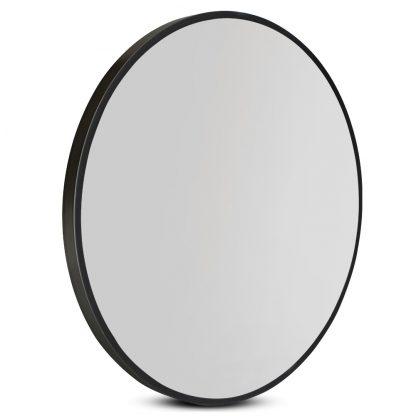 60cm Frameless Round Wall Mirror